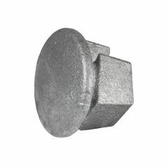 Metalen afdekdop (42,4)