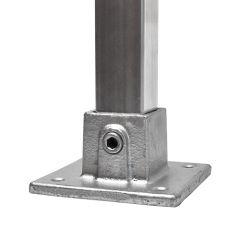 Voetplaat - vierkant (40mm)