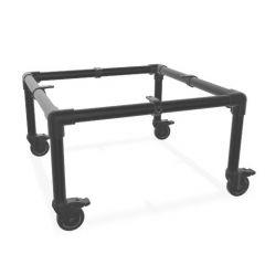 Bijzettafel Gerlos | Zwart 33.7 mm | Wiel | DIY