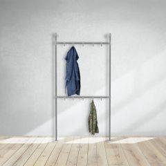 Kapstok Chester | Staal 33.7 mm | Staand | DIY