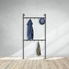 Kapstok Chester | Zwart 33.7 mm | Staand | DIY