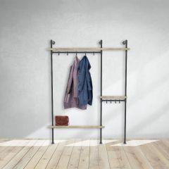 Kapstok Wakefield | Zwart 33.7 mm | Staand | DIY