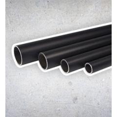Zwarte Steigerbuis - 42.4 mm