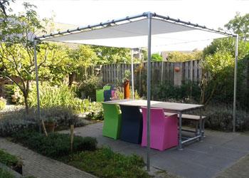 Tuin en Balkon - Steigerbuis inspiratie