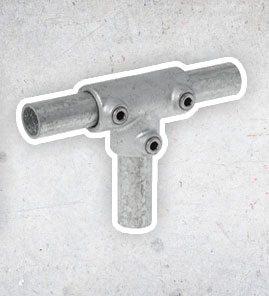 Steigerbuis Koppelingen - Staal 21.3 mm