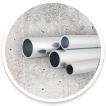 Aluminium Steigerbuis - op maat gezaagd