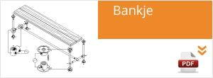 Werktekening Steigerbuis Bankje
