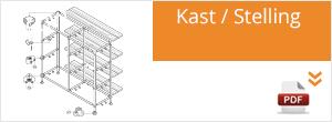 Werktekening Steigerbuis Kast / Stelling